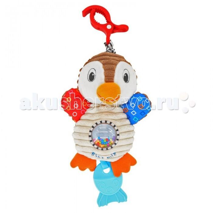 Подвесные игрушки Baby Mix Pingwi с вибрацией подвесные игрушки baby mix собачка с клубникой