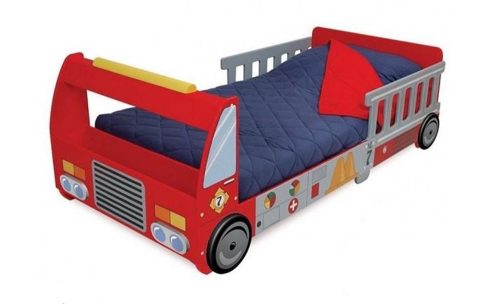 Детские кроватки KidKraft Пожарная машина кровать машина кровати машины радуга m056