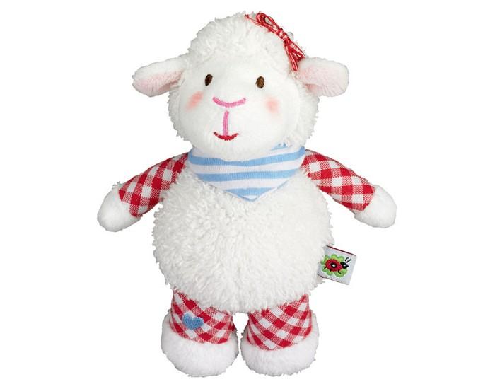 цены на Мягкие игрушки Spiegelburg Плюшевая овечка 13 см 90181