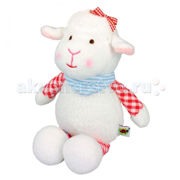 Мягкая игрушка Spiegelburg Музыкальная овечка Baby Gl&amp;#252;ck 90392Музыкальная овечка Baby Gl&amp;#252;ck 90392Spiegelburg Музыкальная овечка Baby Gl&#252;ck 90392 очаровательная мягкая игрушка из коллекции Baby Gl&#252;ck.  Внутри пушистой и очень приятной на ощупь овечки спрятан музыкальный механизм.Если потянуть за верёвочку, овечка исполнит мелодию немецкой колыбельной Schlaf, Kindlein, schlaf.<br>