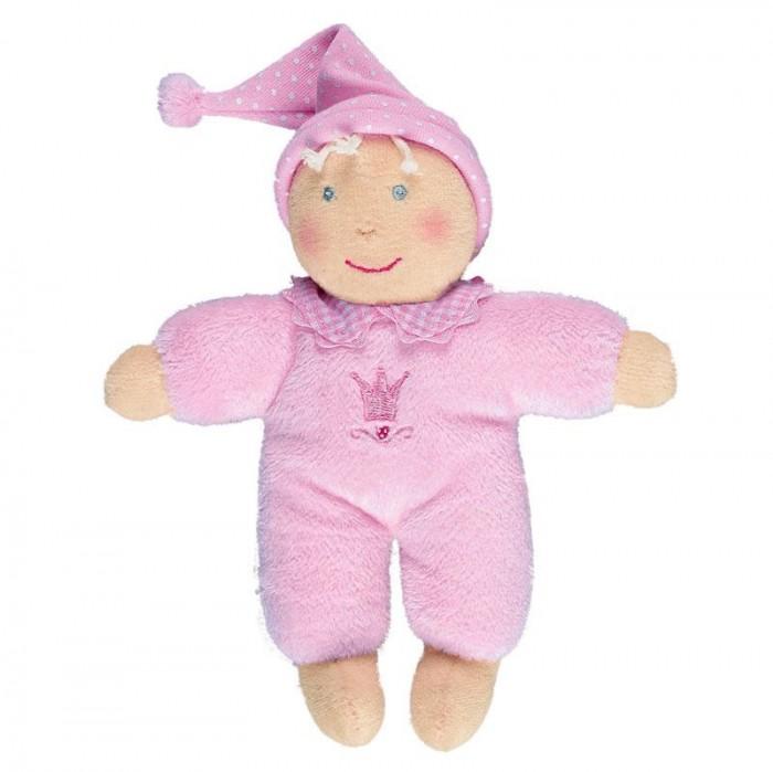 Куклы и одежда для кукол Spiegelburg Плюшевая Кукла розовая Baby Gluck 93398 кукла yako m6579 6