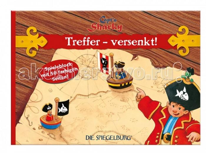 Настольные игры Spiegelburg Морской бой Captn Sharky 20681 игра настольная морской бой djeco игра настольная морской бой