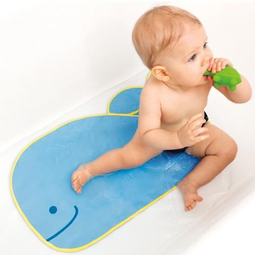 Купание малыша , Коврики для купания Skip-Hop Противоскользящий коврик в ванную Moby Bath Mat арт: 20351 -  Коврики для купания