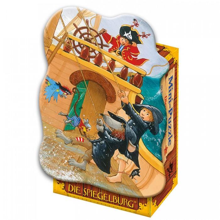 Пазлы Spiegelburg Мини-пазл Captn Sharky 21072 пазлы magic pazle объемный 3d пазл эйфелева башня 78x38x35 см