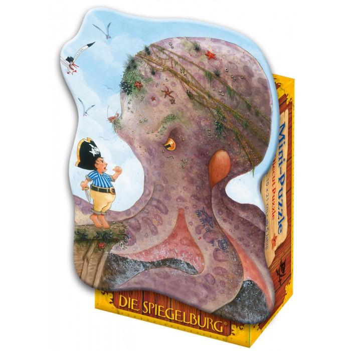 Пазлы Spiegelburg Мини-пазл Captn Sharky 21071 пазлы бомик пазлы книжка репка