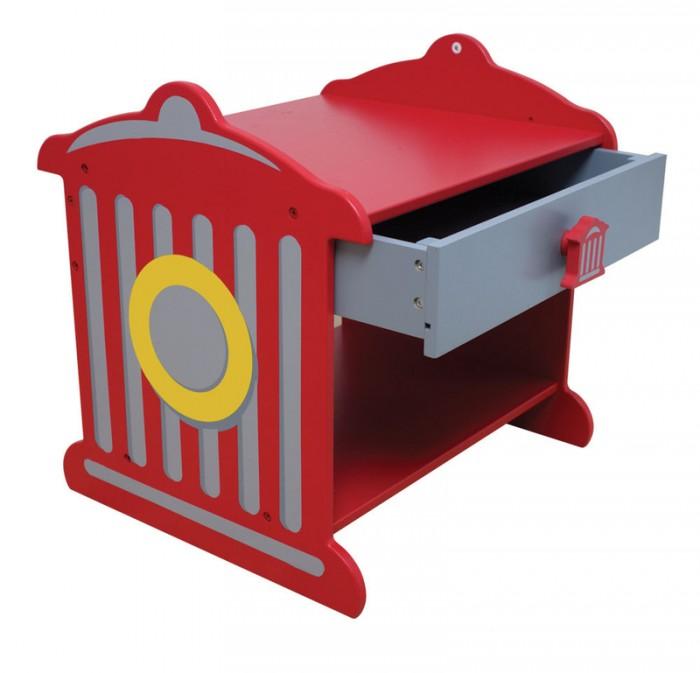 Детские столы и стулья KidKraft Прикроватный столик Пожарная станция