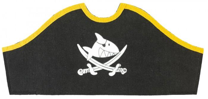 Ролевые игры Spiegelburg Треуголка пирата Captn Sharky 25029 наборы для творчества spiegelburg набор для детского творчества captn sharky 21364