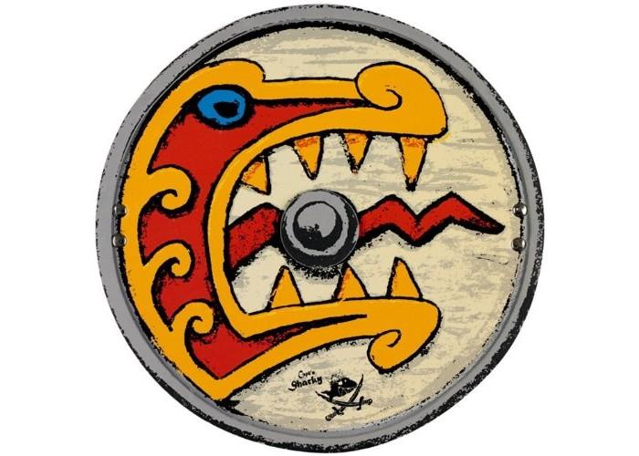 Ролевые игры Spiegelburg Щит викинга Captn Sharky 11081 топор викинга в подарок