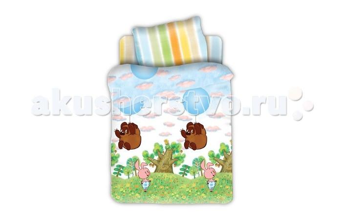 Постельное белье Непоседа Союзмультфильм baby Винни Пух на шарике (3 предмета) союзмультфильм постельное белье