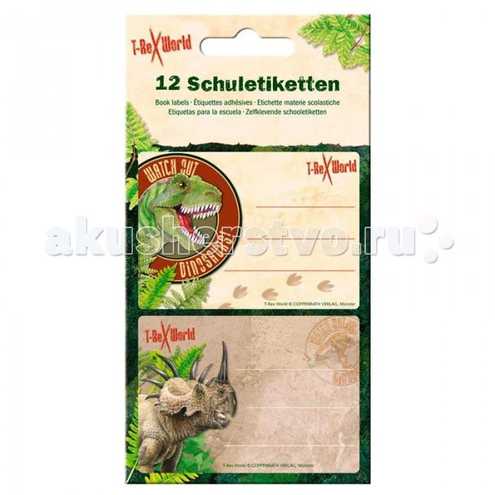 Детские наклейки Spiegelburg Наклейки для тетради T-Rex 21106