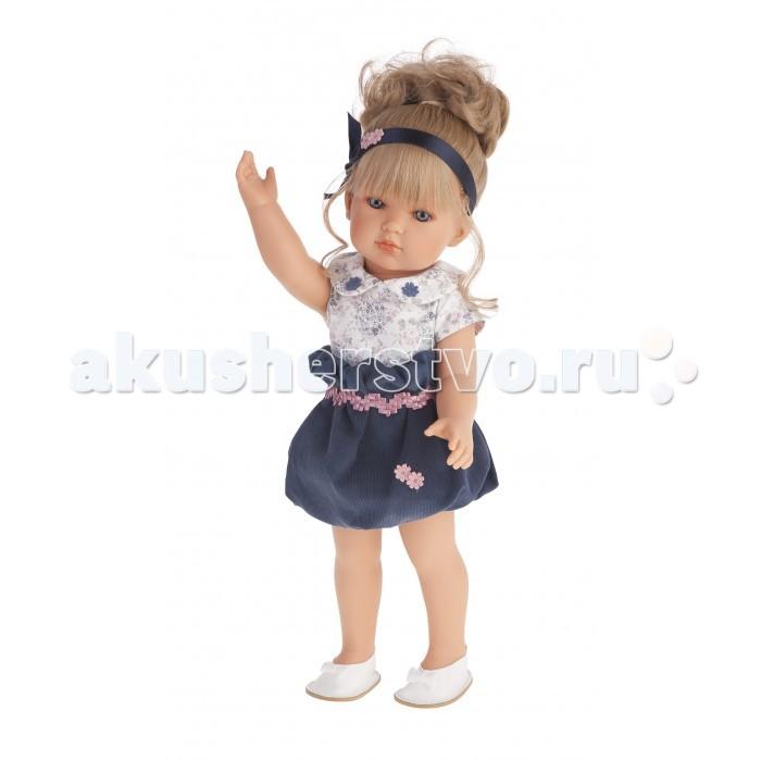 Куклы и одежда для кукол Munecas Antonio Juan Кукла Белла в синем платье 45 см 2809B недорого