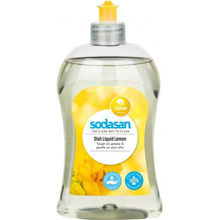 Фото Бытовая химия Sodasan Средство для мытья посуды Лимон 500 мл