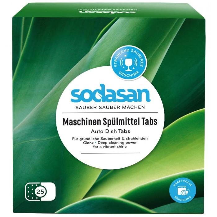 Бытовая химия Sodasan Таблетки для посудомоечных машин 25 шт. таблетки sodasan для посудомоечных машин 25 шт