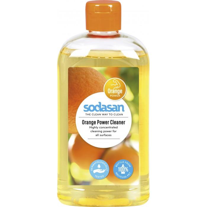 Бытовая химия Sodasan Универсальное моющее средство-концентрат Апельсин 500 мл жидкое средство концентрат sodasan для удаления пятен и стойких загрязнений 300 мл