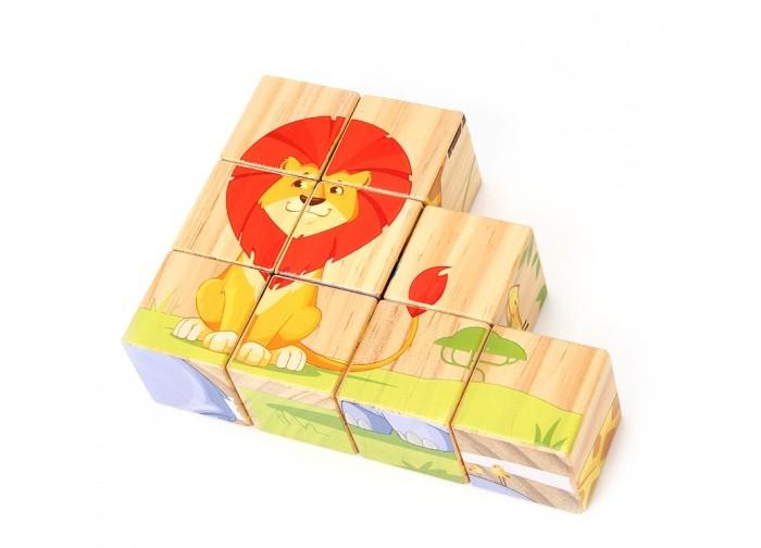 Деревянные игрушки Lucy & Leo Кубики набор игровой lucy
