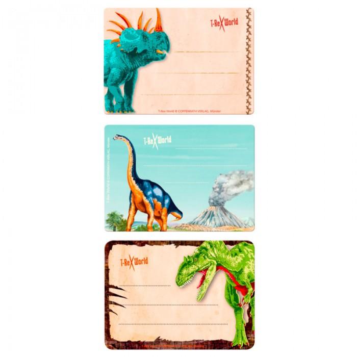 Детские наклейки Spiegelburg Наклейки для тетради T-Rex World 12184