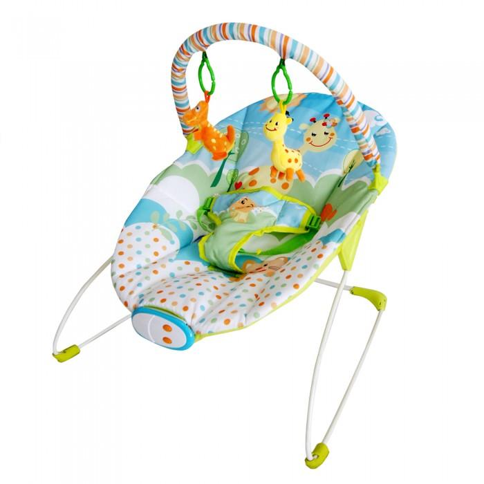 La-di-da Шезлонг ЗверушкиШезлонг ЗверушкиLa-di-da Шезлонг Зверушки  Шезлонг La-Di-Da подходит для деток младшего возраста. Шезлонг сделан из мягкой и приятной ткани и прочной конструкции.   На нем есть мягкая дуга, на которой располагаются 2 игрушки, которые позволяют развить тактильные навыки, хватательные рефлексы и координацию движений.  Особенности: дуга со съемными игрушками с музыкальной панелью (7 меняющихся мелодий) работает в совместном режиме музыка+вибрация работает от 2 батареек типа С трехточечные ремни безопасности<br>