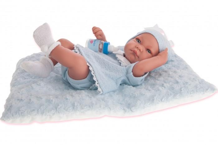 Munecas Antonio Juan  Кукла-младенец Нико (мальчик) в голубом 42 см 5053B