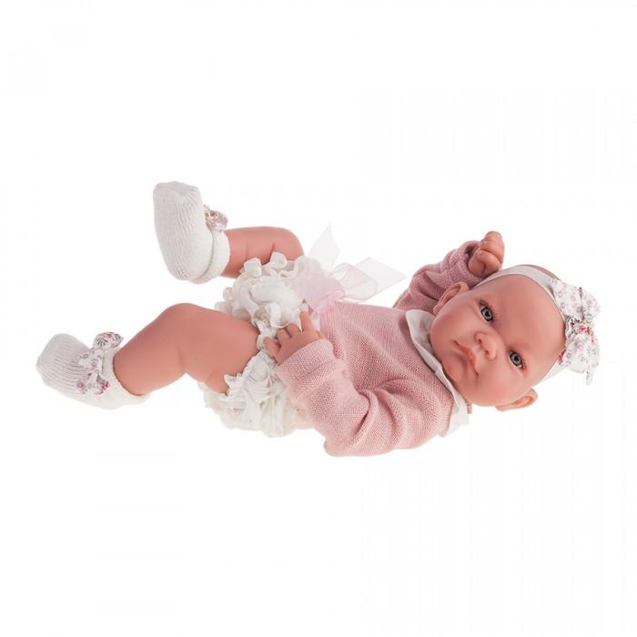 Munecas Antonio Juan  Кукла-младенец Эмма 42 см 5096WКукла-младенец Эмма 42 см 5096WMunecas Antonio Juan Кукла-младенец Эмма 42 см 5096W. Очаровательные куклы - новые образы классических кукол, созданные испанским производителем Мунекас Антонио Хуан.   Выразительные глазки обрамлены длинными ресницами. У куколок симпатичные лица, выполненные с тщательной прорисовкой деталей.   Игрушки изготовлены из высококачественного винила с добавлением силикона.  Размер куклы: 42 см<br>