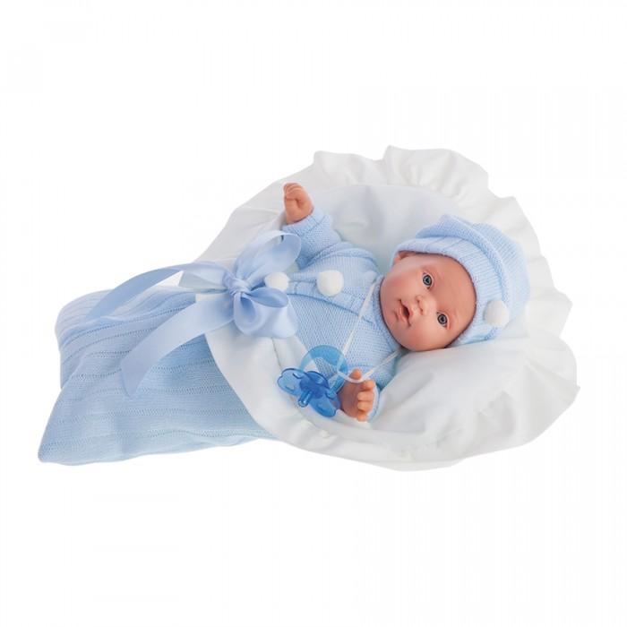 Куклы и одежда для кукол Munecas Antonio Juan Кукла Ланита в голубом плачущая 27 см 1110B, Куклы и одежда для кукол - артикул:205197