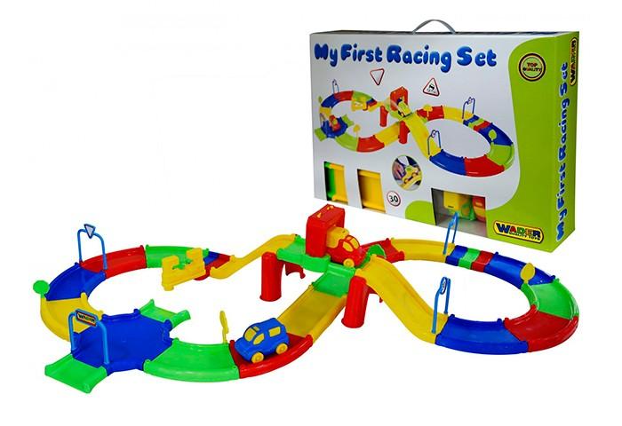 Машины Wader Гоночный трек №2 ecoiffier игровой набор конструктор гоночный трек 94 элемента