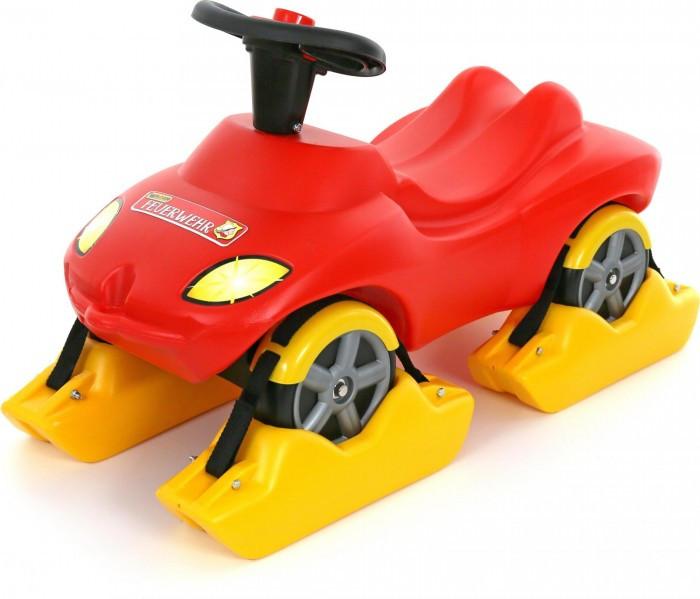 Каталки Wader Пожарная команда с полозьями на зиму каталка машинка r toys bentley пластик от 1 года музыкальная красный 326