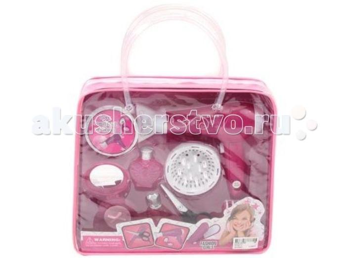 Ролевые игры Shantou Gepai Набор парикмахерский в сумке парикмахерский набор в чемоданчикесамо совершенство