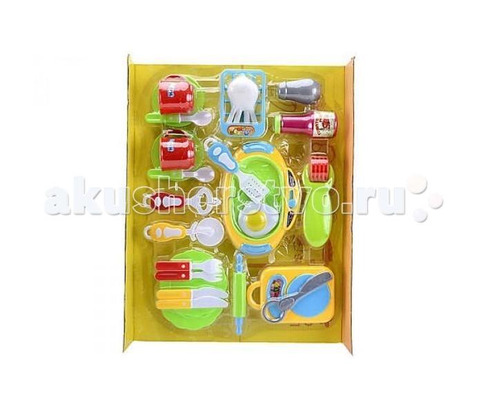 Ролевые игры Shantou Gepai Набор посуды Супер кухня набор посуды shantou gepai набор посуды и продуктов в корзине