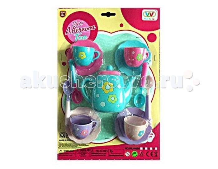 Ролевые игры Shantou Gepai Набор посуды Чаепитие WLN686-B набор посуды shantou gepai набор посуды и продуктов в корзине