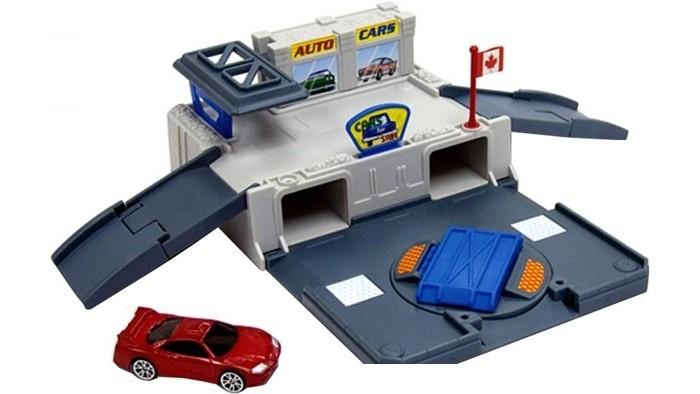 Машины MotorMax Игровой набор Автомастерская как удостоверение на право управления транспортным средством с категории