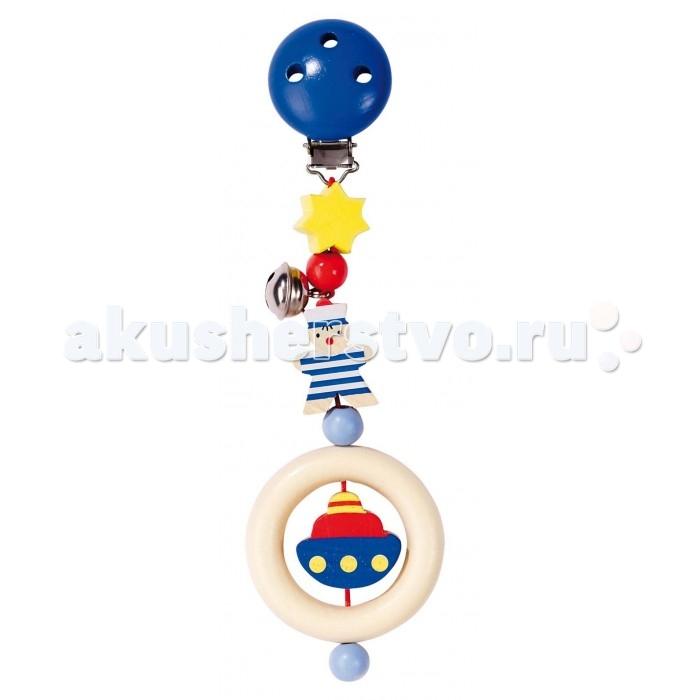 Деревянные игрушки Heimess Клипса с игрушкой Морячок heimess игрушка эластик гранд heimess