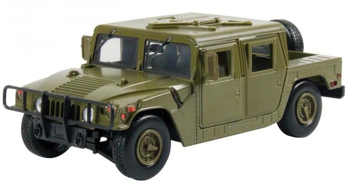 Машины MotorMax Модель автомобиля Humvee Cargo (Масштаб 1:24) машины motormax модель автомобиля ford police interceptor concept масштаб 1 24