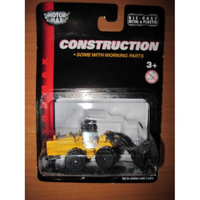 Машины MotorMax Строительная техника - Трактор (Масштаб: 1:64) конструкторы 196pcs строительная техника высокое качество строительная техника подарок