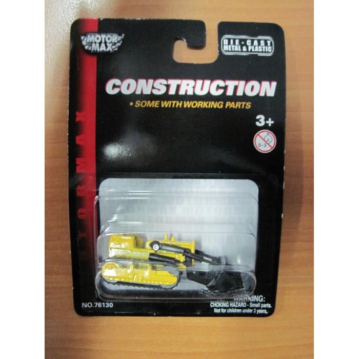 Машины MotorMax Строительная техника - Бульдозер (Масштаб: 1:64) motormax модель автомобиля bmw z8 масштаб 1 60