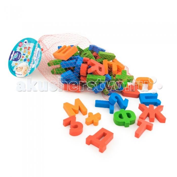 Игрушки для ванны Pic`n Mix Набор для игры в ванне Буквы-цифры набор мебели буквы цифры салатовый
