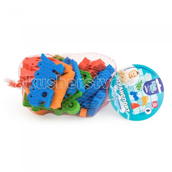 Игрушки для ванны Pic`n Mix Набор для игры в ванне Транспорт игровой набор для игры в ванне лови рыбу crd 26x5x29см арт zyb b1068