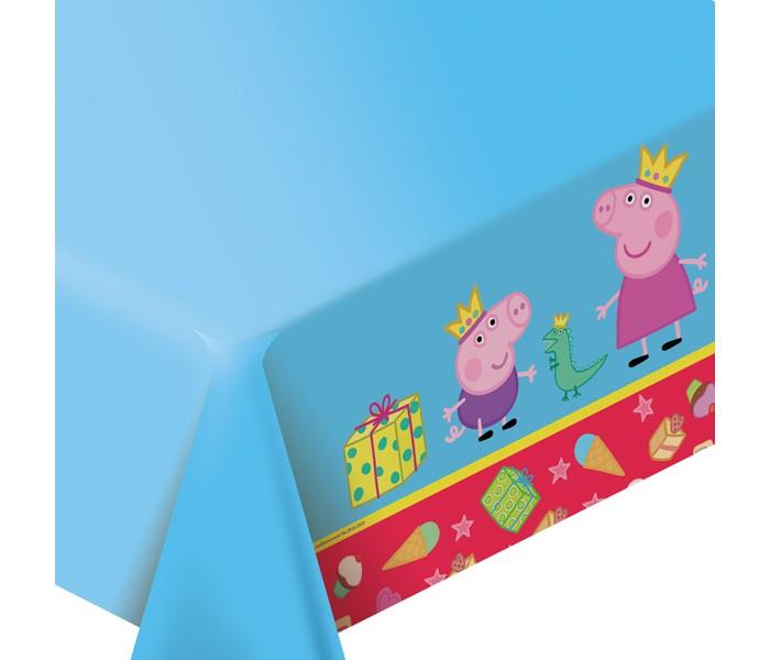 Товары для праздника Свинка Пеппа (Peppa Pig) Скатерть Пеппа-принцесса peppa pig playing football