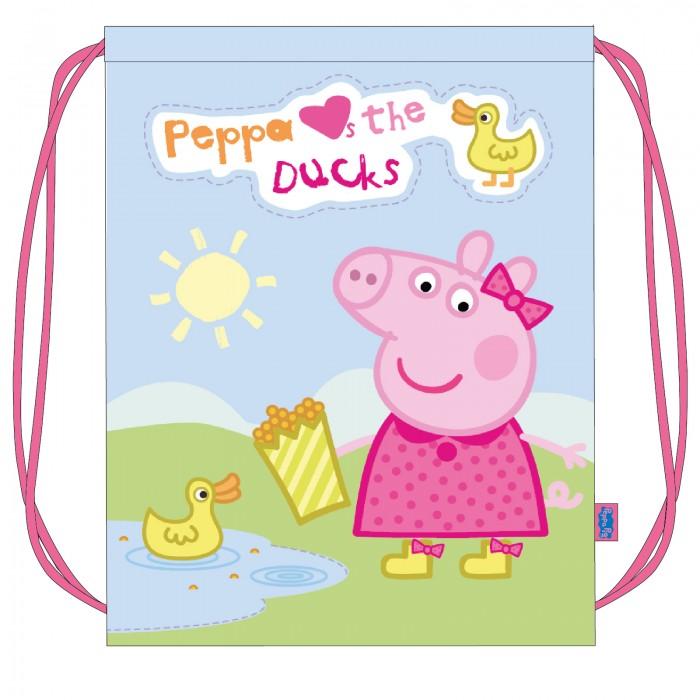 Мешки для обуви Свинка Пеппа (Peppa Pig) Мешок для обуви Утка сумки для детей свинка пеппа peppa pig рюкзачок малый утка