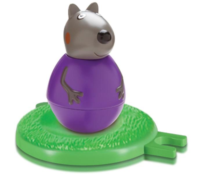 Игровые фигурки Свинка Пеппа (Peppa Pig) Фигурка-неваляшка Щенок Денни набор игровой peppa pig 10 см