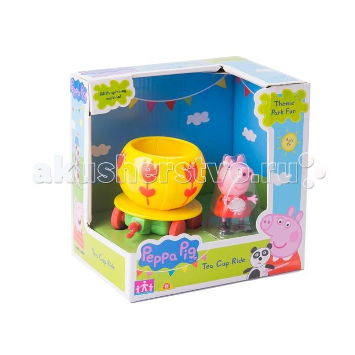 Каталки-игрушки Свинка Пеппа (Peppa Pig) Чашка с фигуркой каталки peppa pig каталка машина семьи пеппы свинка пеппа