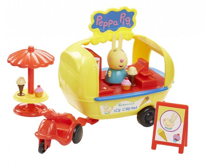 Купить Игровые наборы, Свинка Пеппа (Peppa Pig) Игровой набор Кафе-мороженое Ребекки