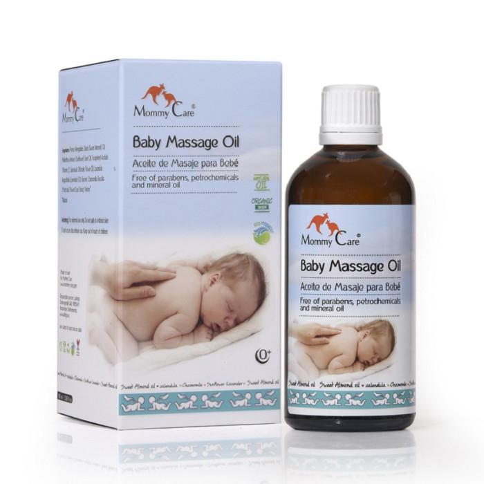 Косметика для новорожденных Mommy Care Органическое детское массажное масло 110 мл papa care детское масло для массажа очищения увлажнения кожи с помпой 150 мл