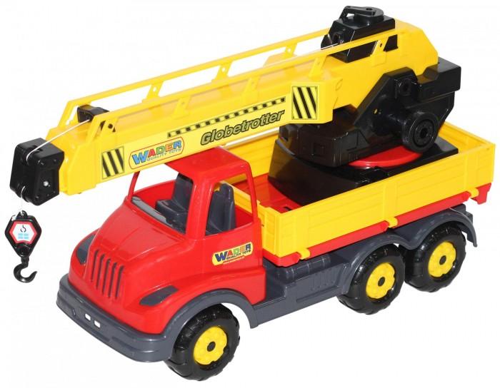Машины Полесье Муромец автомобиль-кран полесье гоночный автомобиль торнадо цвет желтый