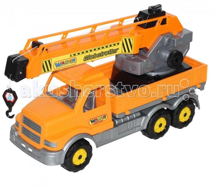 Машины Полесье Сталкер автомобиль-кран полесье гоночный автомобиль торнадо цвет желтый