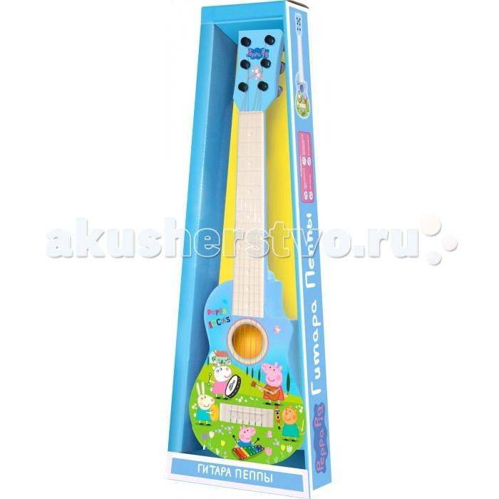 Музыкальные игрушки Свинка Пеппа (Peppa Pig) Гитара Пеппы гитара peppa pig peppa pig 30572