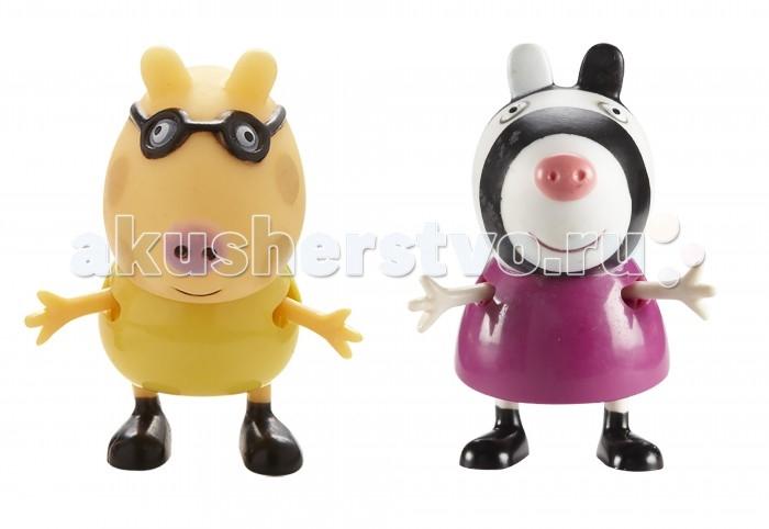 Игровые фигурки Свинка Пеппа (Peppa Pig) Игровые фигурки Педро и Зои игровые фигурки свинка пеппа peppa pig семья пеппы 2 фигурки