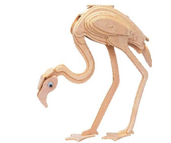 Конструкторы Мир деревянных игрушек (МДИ) Фламинго конструкторы мир деревянных игрушек мди мышь