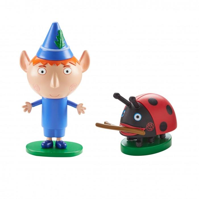 Игровые наборы Бен и Холли Игровой набор 2 фигурки Бен и Гастон игрушки для ванны бен и холли набор для купания холли и друзья