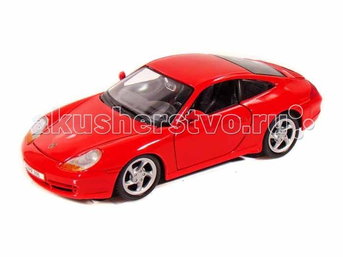 Машины MotorMax Модель автомобиля Porsche 911 (Масштаб 1:60) машины motormax модель автомобиля porsche 911 масштаб 1 60
