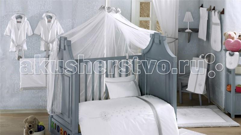 Постельные принадлежности , Балдахины для кроваток Kidboo Blossom Linen White арт: 20673 -  Балдахины для кроваток